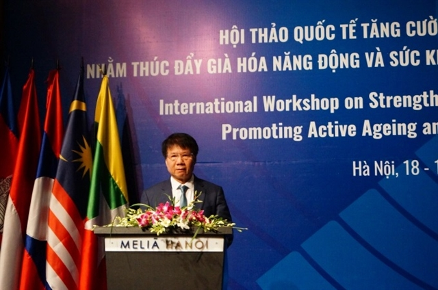 International workshop promotes active ageing mental health in ASEAN