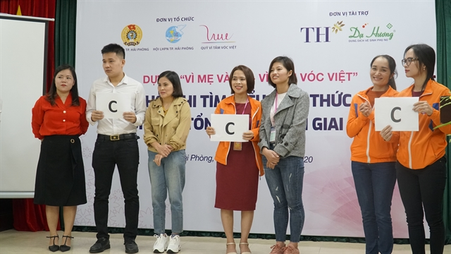 Workers in Hải Phòng City learn about reproductive and mental health nutrition
