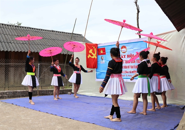Ethnic people in Điện Biên celebrate the NationalGreatUnity Festival