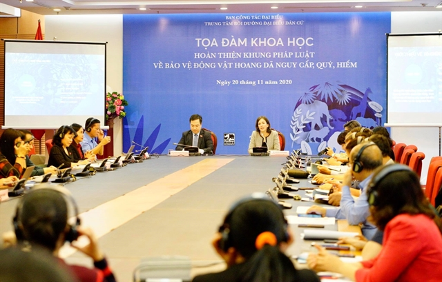 Dialogue discusses strengthening wildlife legislation and communication in Việt Nam