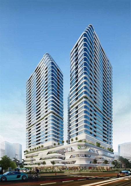 Work starts on King Crown Infinity residential and commercial complex in HCM City