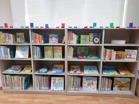 Non-profit library offers quality English books for children