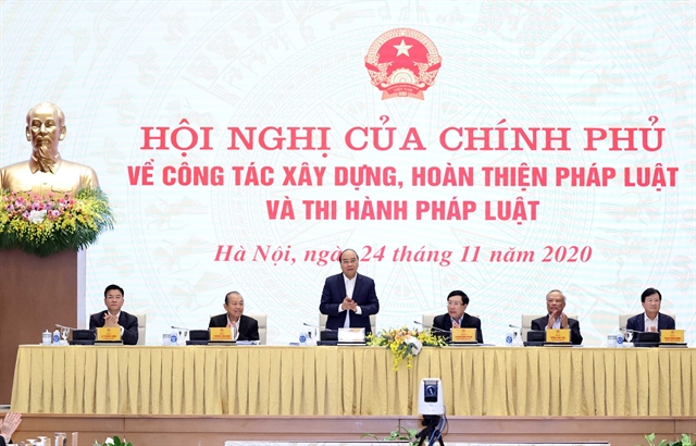 PM Phúc urges better law-building for country's development