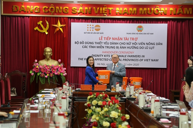 UNFPA offers crucial support to women in central Việt Nam