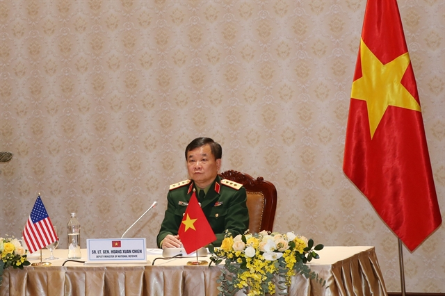 2020 Việt Nam US defence policy dialogue held online