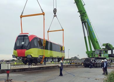 Violations found at Nhổn-Hà Nội Railway Station elevated railway project