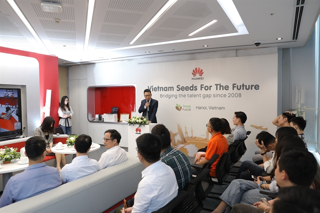 Huawei Việt Nam launches Seeds for the Future 2020 programme