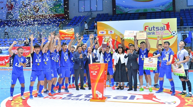 Thái Sơn Nam win HDBank Nation Futsal Championship final on penalties