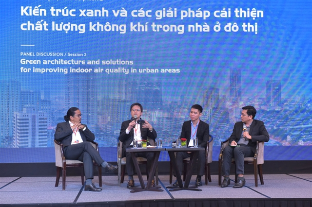 Seminar discusses solutions to improve indoor air quality in urban areas