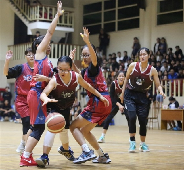 Age no barrier for basketball prospect