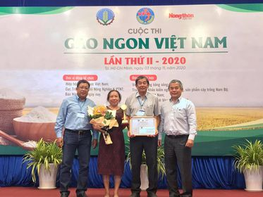 ST25 fragrant rice wins first prize