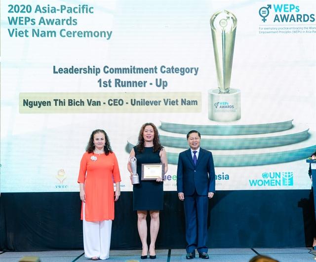 Unilever Vietnam President: Better gender-inclusion better business