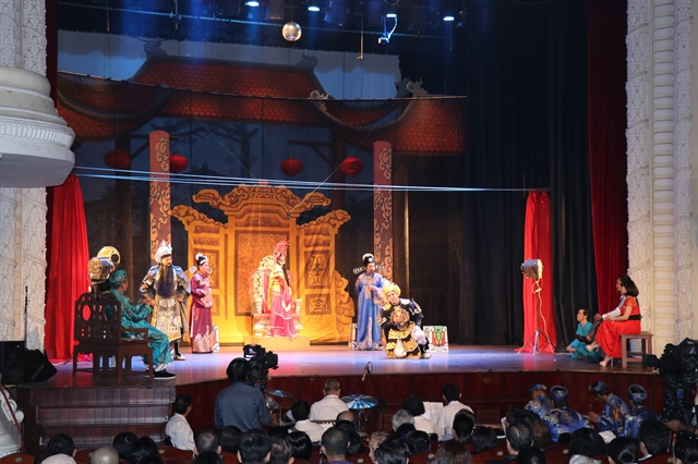 New TV programme on Vietnamese theatre airs