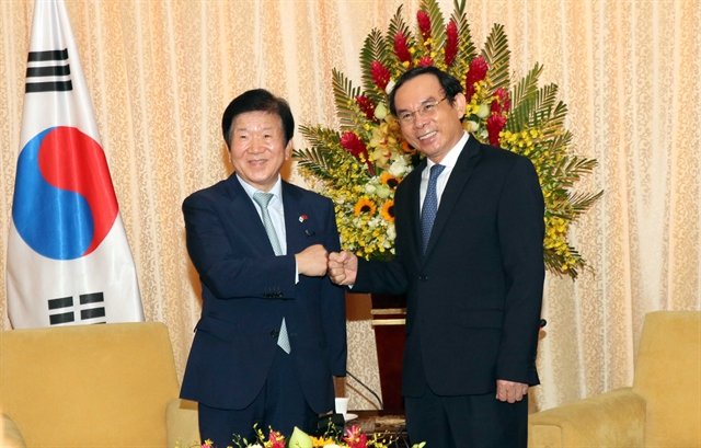 S Korean top legislator wraps up visit to Việt Nam