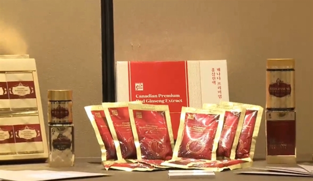 Canadian ginseng promoted in Việt Nam