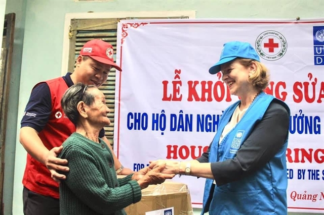 UNDP supports disaster-affected people in central Việt Nam