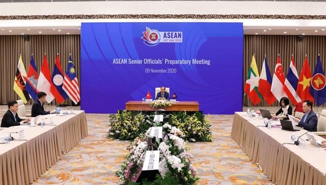 ASEAN Senior Officials Preparatory Meeting held online