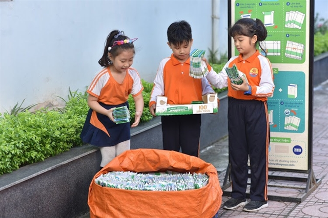 Tetra Pak launches carton collecting competition for school children in Hà Nội