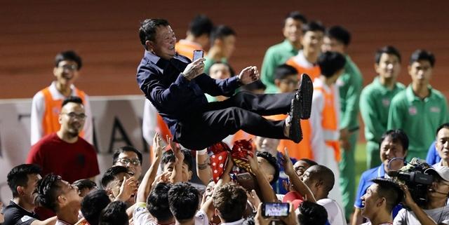 Viettelcoach Hoàng revels in sides rebirth