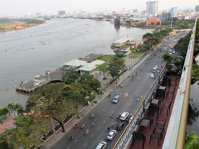HCM City to renovate Bạch Đằng Wharf Park