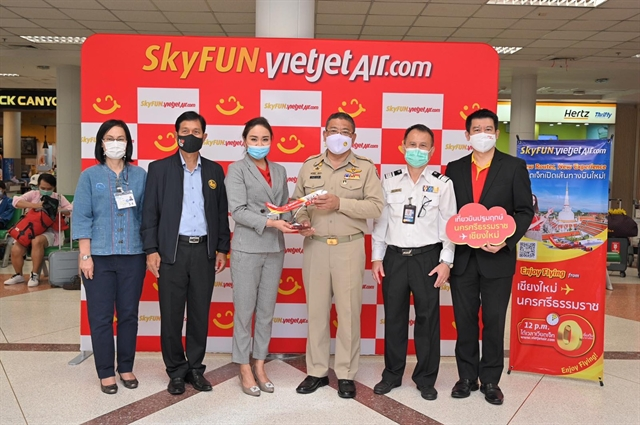 Thai Vietjet launches new route giving away promotional tickets