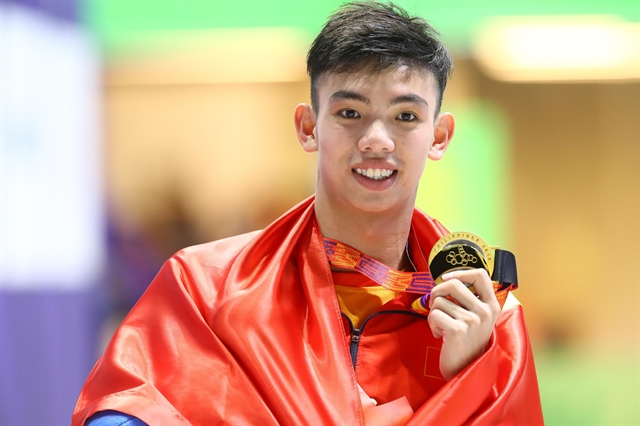 Swimmer Hoàng expected to shine at Tokyo Olympics