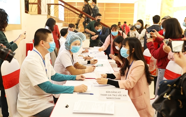 Việt Nam starts human trials of COVID-19 vaccines