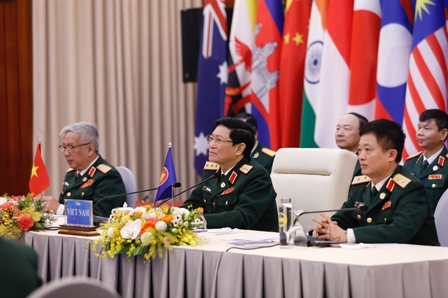 ASEAN defence ministers adopt joint declaration on security vision