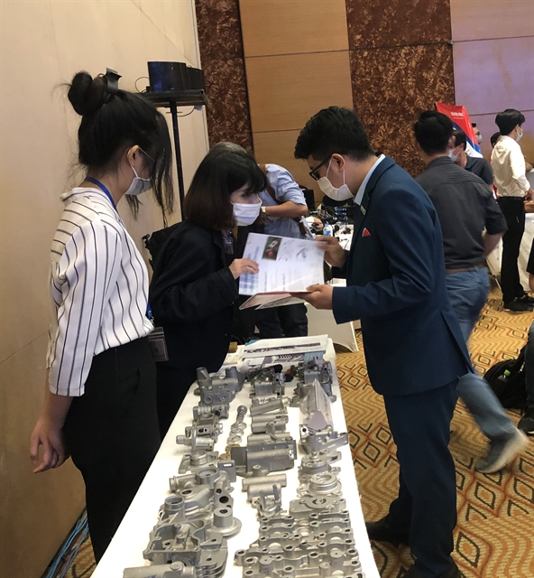 Small firms in supporting industries eye entry into global supply chains