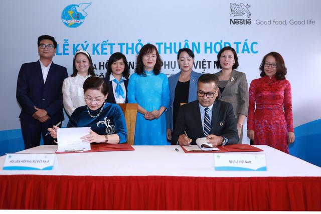 Nestlé Vietnam and Womens Union team upto empower women