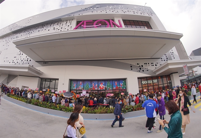AEON Vietnam officially opens department store and supermarket in Hải Phòng