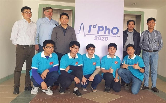 Vietnamese students bag five medals at intl distributed physics Olympiad