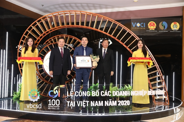 Unilever Vietnam named among Top 10 Sustainable Businesses in Việt Nam in 2020