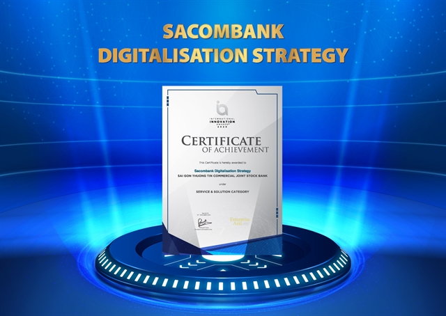Sacombank wins International Innovation Award for digitisation
