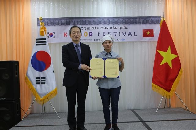 K-Food festival promotes Vietnamese-Korean cultural exchange