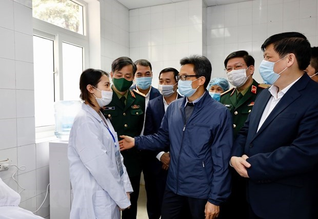 Deputy PM visits first COVID-19 vaccine trial volunteers