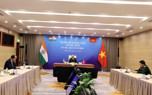 Việt Nam India set forth joint vision for peace prosperity and people