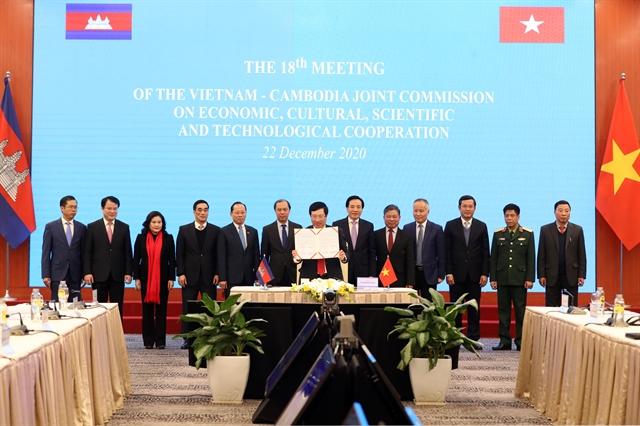 Việt Nam Cambodia ratifyborder agreement pledgedeeper cooperation
