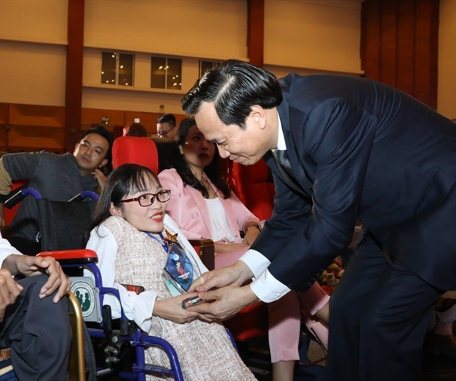 Outstanding youths with disabilities honoured