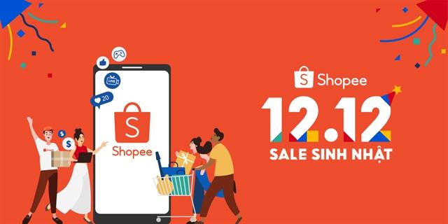 Shopee starts birthdaysale