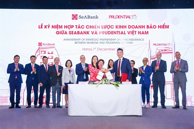 Prudential signs deal with SeABank to distribute digital insurance product