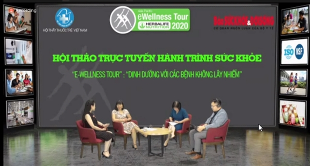 eWellness Tour shares knowledge about nutrition