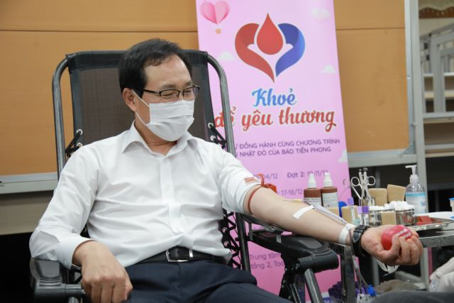 Nearly 10000 units of blood donated in Samsung drive