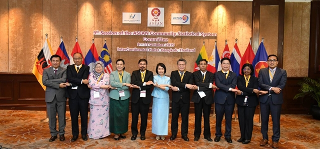 10th session ASEAN Community Statistical System to talk big data