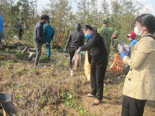 Chàm Islands take action on plastic waste