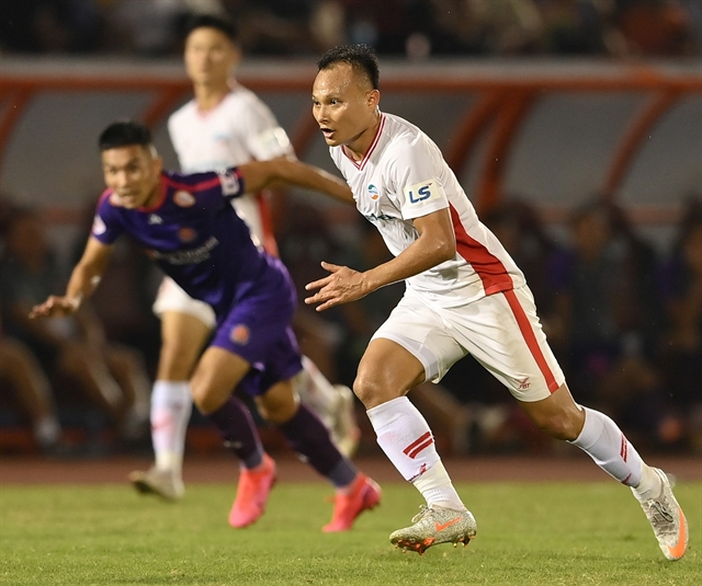 Four V.League 1 titles later Hoàngstill full of passion for football