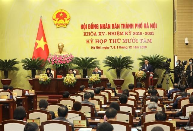 Hà Nội reviews socio-economic development