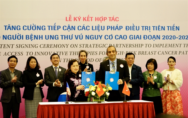 Project improves treatment access for high-risk breast cancer patients in VN
