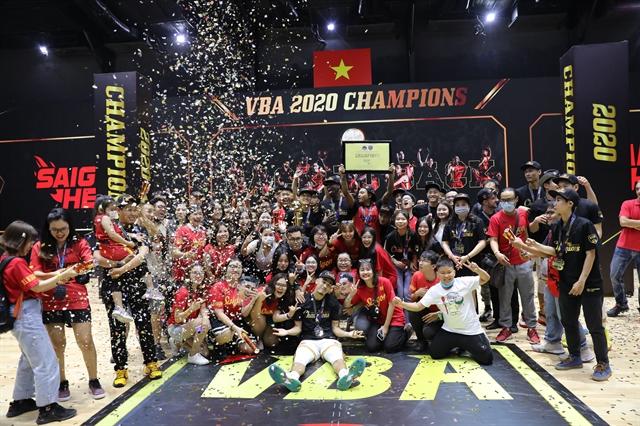 Saigon Heat wins second2020VBA championship