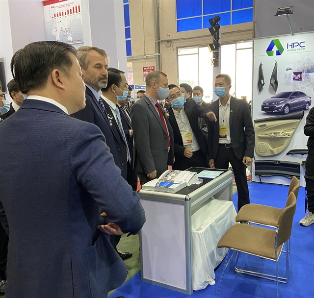 First supporting industry and manufacturing exhibition opened